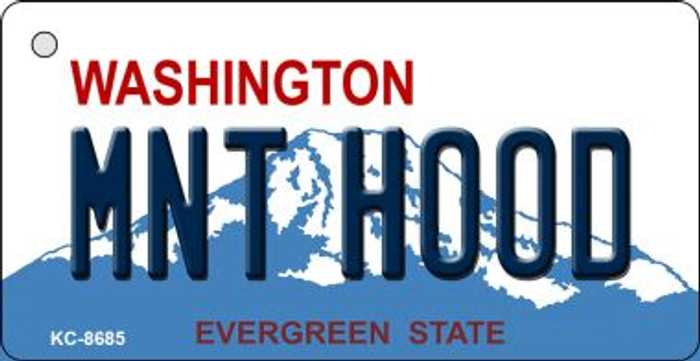 MNT Hood Washington Background Wholesale Novelty Key Chain