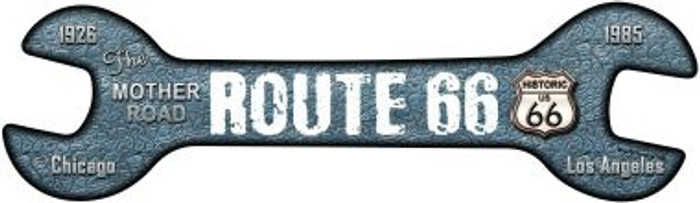 Route 66 Wholesale Novelty Metal Wrench Sign