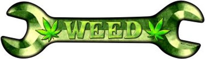 Weed Wholesale Novelty Metal Wrench Sign