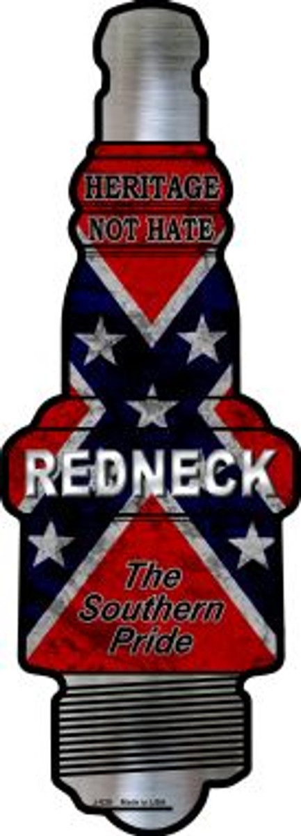 Redneck Wholesale Novelty Metal Spark Plug Sign J-020