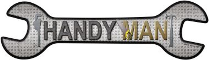 Handyman Wholesale Novelty Metal Wrench Sign