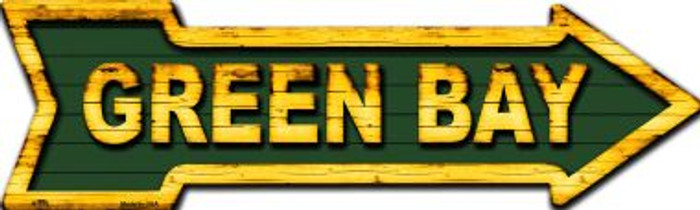 Green Bay Wholesale Novelty Metal Arrow Sign