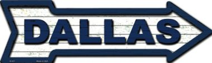 Dallas Wholesale Novelty Metal Arrow Sign