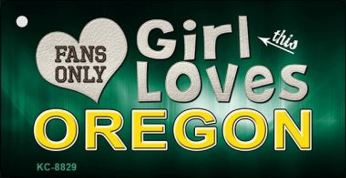 This Girl Loves Oregon Wholesale Novelty Key Chain