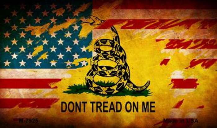 Dont Tread On Me Wholesale Novelty Metal Magnet