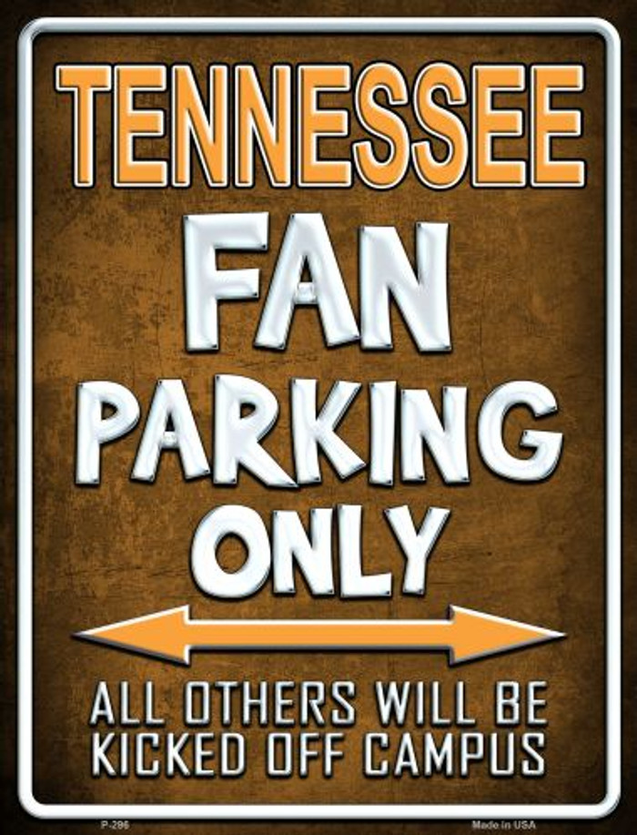 Tennessee Wholesale Metal Novelty Parking Sign
