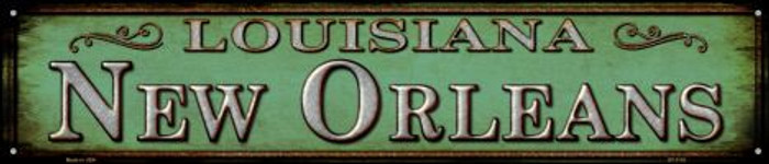 New Orleans Louisiana Wholesale Novelty Metal Street Sign ST-1115