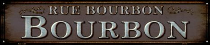 Rue Bourbon Wholesale Novelty Metal Street Sign ST-1118