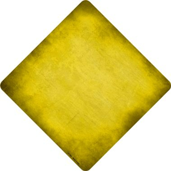 Yellow Oil Rubbed Wholesale Novelty Metal Crossing Sign