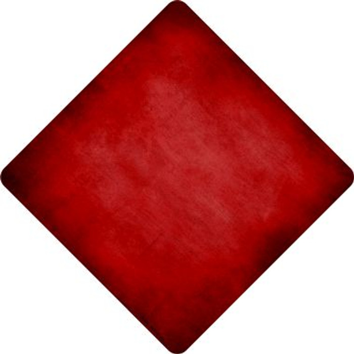 Red Oil Rubbed Wholesale Novelty Metal Crossing Sign