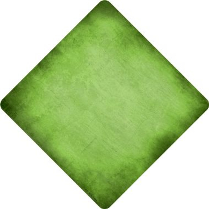 Lime Green Oil Rubbed Wholesale Novelty Metal Crossing Sign
