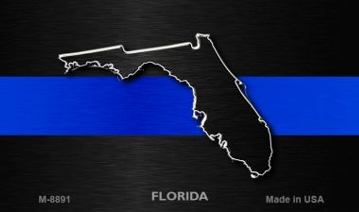 Florida Thin Blue Line Wholesale Novelty Metal Magnet