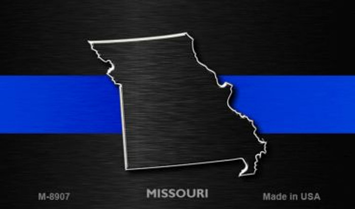 Missouri Thin Blue Line Wholesale Novelty Metal Magnet