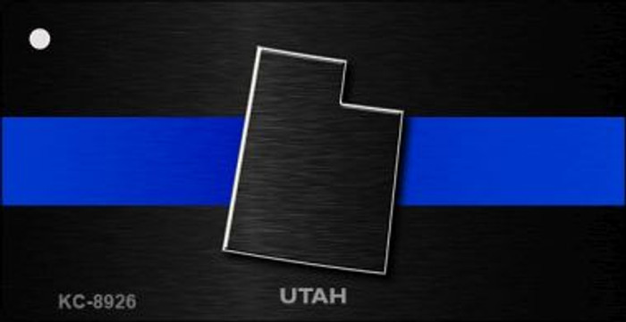 Utah Thin Blue Line Wholesale Novelty Key Chain