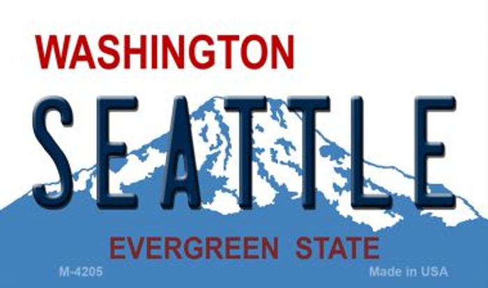 Seattle Washington Wholesale Novelty Metal Magnet