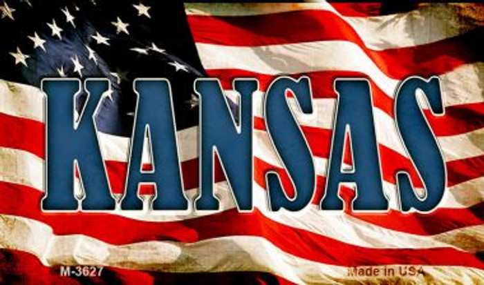 Kansas Wholesale Novelty Metal Magnet
