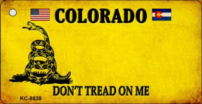 Colorado Dont Tread On Me Wholesale Novelty Key Chain