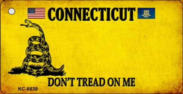 Connecticut Dont Tread On Me Wholesale Novelty Key Chain