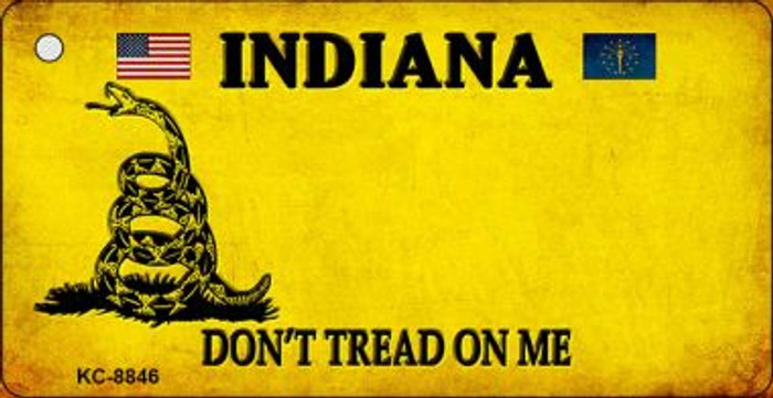 Indiana Dont Tread On Me Wholesale Novelty Key Chain