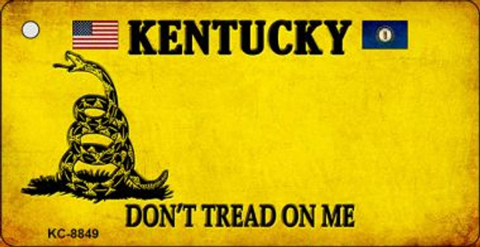 Kentucky Don't Tread On Me Wholesale Novelty Key Chain