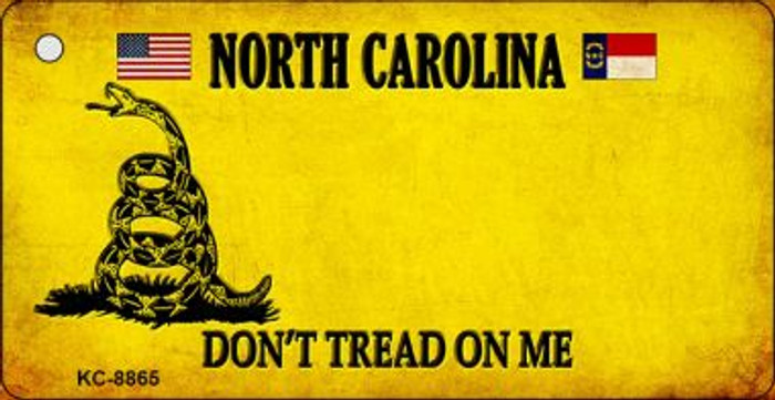 North Carolina Don't Tread On Me Wholesale Novelty Key Chain