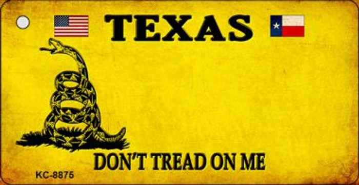 Texas Don't Tread On Me Wholesale Novelty Key Chain