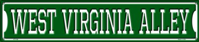 West Virginia Alley Wholesale Novelty Metal Street Sign ST-1104