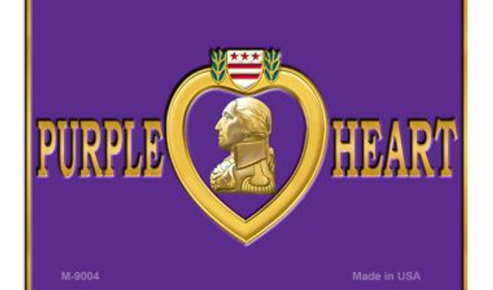Purple Heart Wholesale Novelty Metal Magnet M-9004