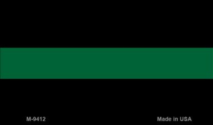 Thin Green Line Wholesale Novelty Metal Magnet