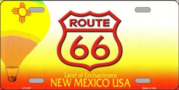 Route 66 New Mexico Novelty Wholesale Metal License Plate