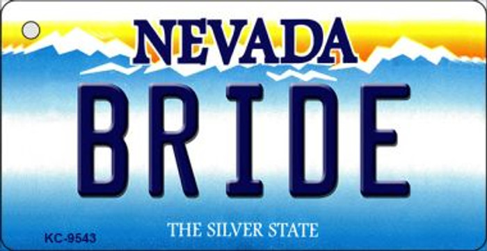 Bride Nevada Background Wholesale Novelty Key Chain