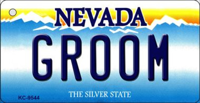 Groom Nevada Background Wholesale Novelty Key Chain