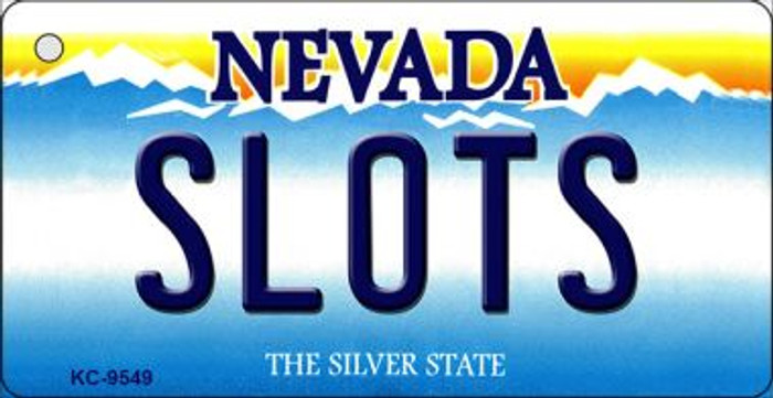 Slots Nevada Background Wholesale Novelty Key Chain
