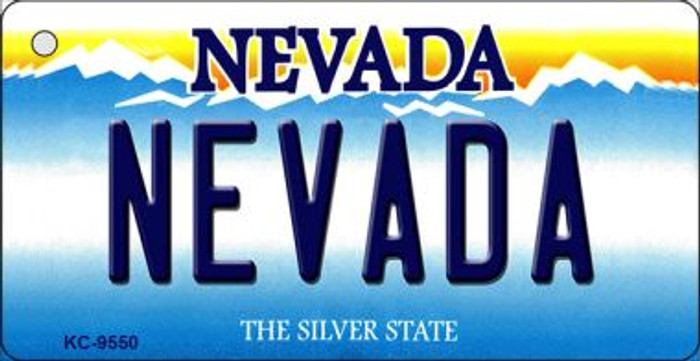 Nevada Nevada Background Wholesale Novelty Key Chain