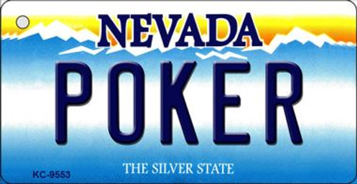 Poker Nevada Background Wholesale Novelty Key Chain