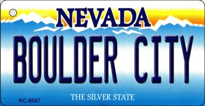 Boulder City Nevada Background Wholesale Novelty Key Chain