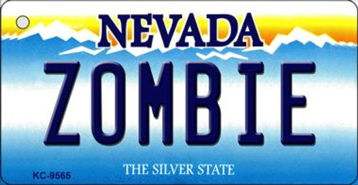 Zombie Nevada Background Wholesale Novelty Key Chain