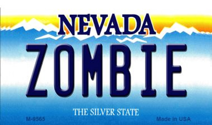 Zombie Nevada Background Wholesale Novelty Metal Magnet