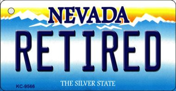 Retired Nevada Background Wholesale Novelty Key Chain