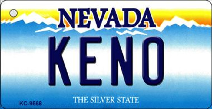 Keno Nevada Background Wholesale Novelty Key Chain