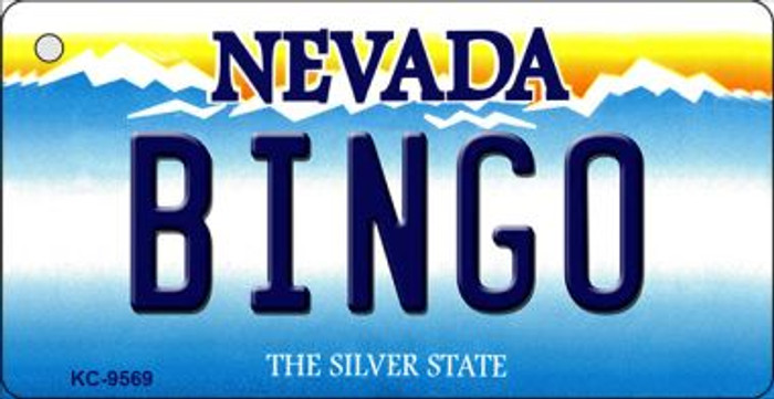 Bingo Nevada Background Wholesale Novelty Key Chain