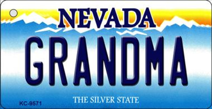 Grandma Nevada Background Wholesale Novelty Key Chain
