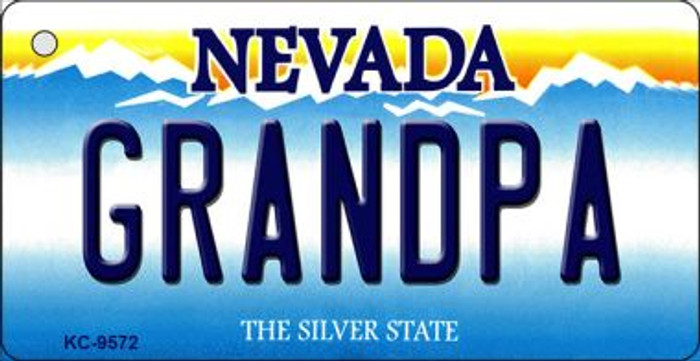 Grandpa Nevada Background Wholesale Novelty Key Chain