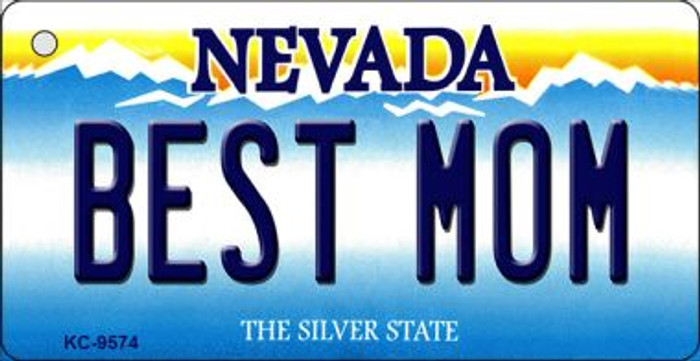Best Mom Nevada Background Wholesale Novelty Key Chain