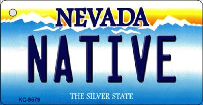 Native Nevada Background Wholesale Novelty Key Chain