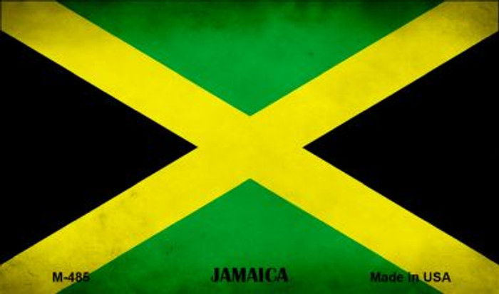 Jamaica Flag Wholesale Novelty Metal Magnet