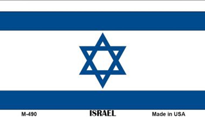 Israel Flag Wholesale Novelty Metal Magnet