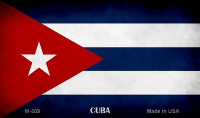 Cuba Flag Wholesale Novelty Metal Magnet
