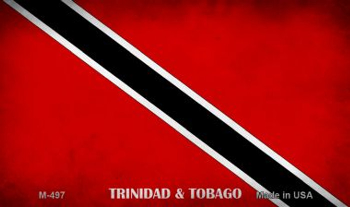 Trinidad and Tobago Flag Wholesale Novelty Metal Magnet