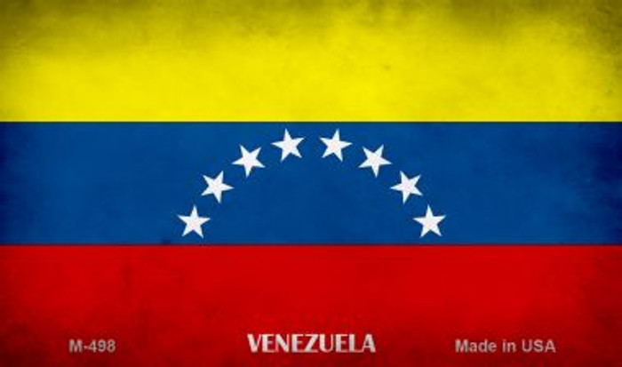 Venezuela Flag Wholesale Novelty Metal Magnet